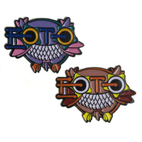 EOTO Owls - Hat Pin