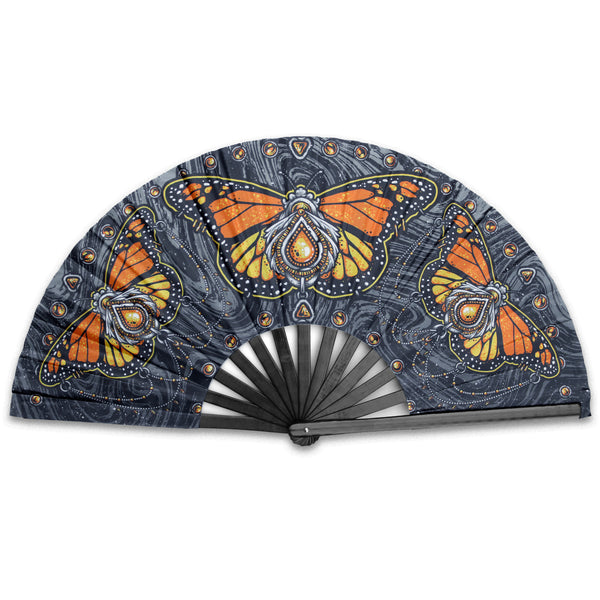 Monarch - Hand Fan