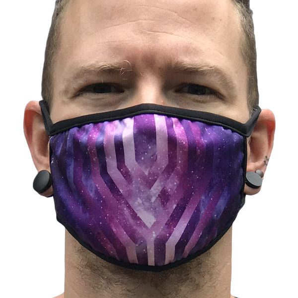Galactic Glitch - Face Mask