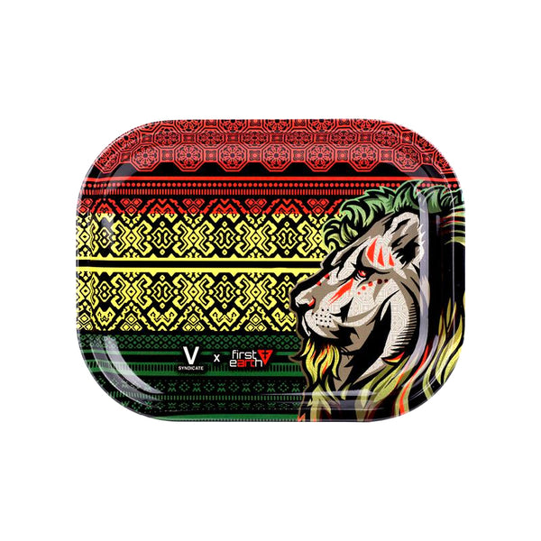 Rasta Lion Totem - Small Rolling Tray
