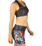 Lion Totem - Athletic Crop