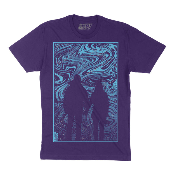 Melt - Purple - Unisex T-Shirt