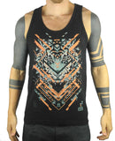 Glitch Tiger - Unisex Tank Top