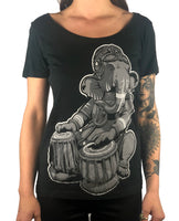 Ganesh - Womens Scoop Neck