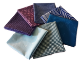 Hoffman Gemstones Blues/Purples - Fuller Fabrics