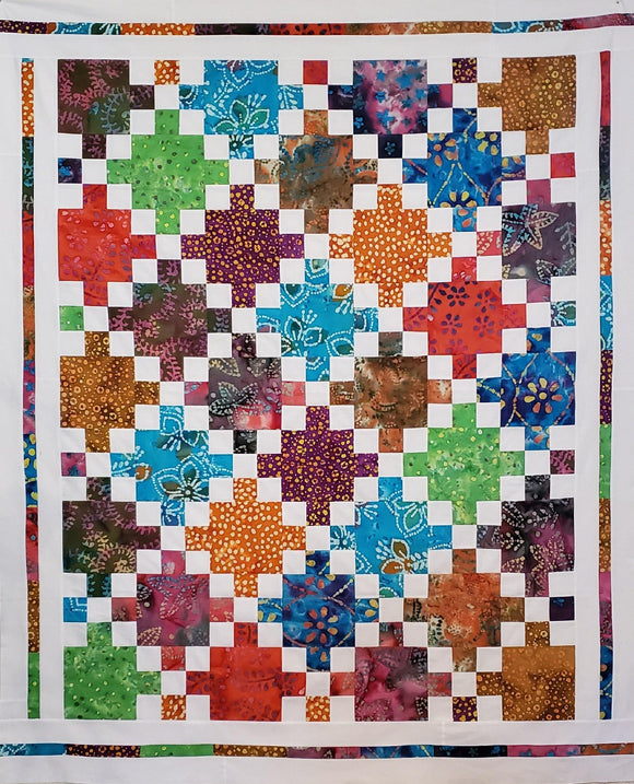 Patches of Nine Quilt Kit - Fuller Fabrics