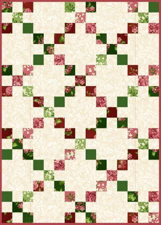 Irish Chain Quilt Pod Lexington, Maywood Studios 30in x 42in