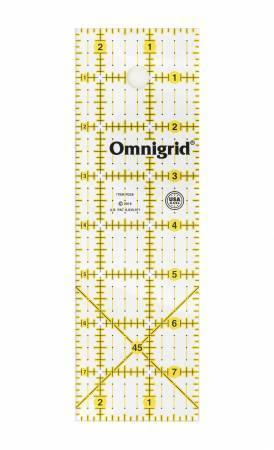 Omnigrid Ruler 2-1/2in x 8in