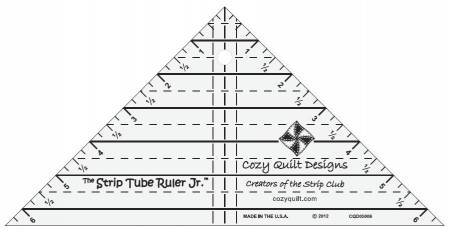 Strip Tube Junior Ruler - Fuller Fabrics