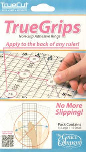 TrueCut TrueGrips Grippers for Ruler - Fuller Fabrics