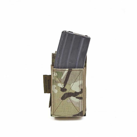 Warrior Single Elastic Magazine Pouch Multicam