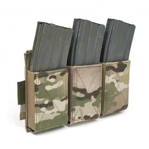 Warrior Assault Systems Triple Elastic Mag Pouch Multicam