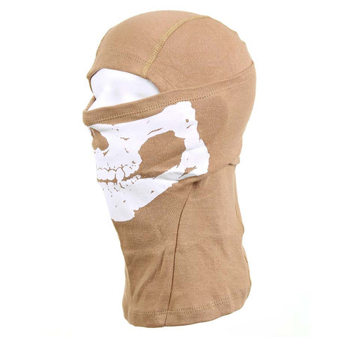 101 Inc Balaclava Skull Cotton Coyote