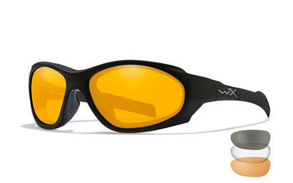 Wiley X XL-1 Advanced Comm Smoke/Clear/Rust Matte Black Frame