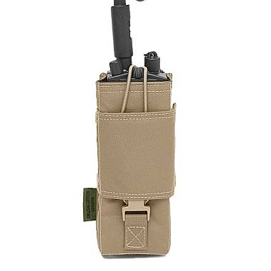 Warrior MBITR Radio Pouch Gen 1 Coyote