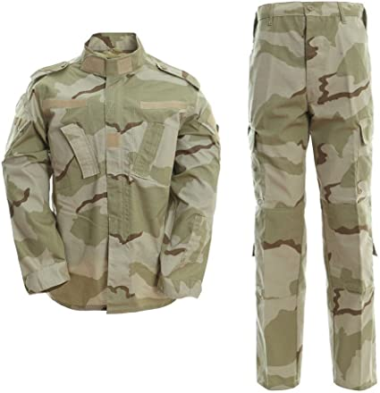 DRAGONPRO AU001 ACU Uniform Set 3-Color Desert