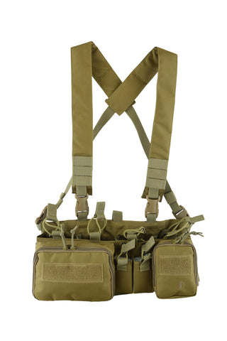 Shadow Tactical Gear Commanche Chest Rig Coyote Tan