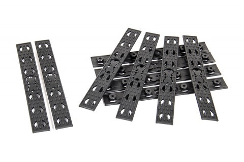 Evolution URX 4 Rail Panels (10 pcs) - Black