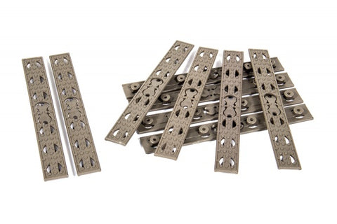 Evolution URX 4 Rail Panels (10 pcs) - Tan