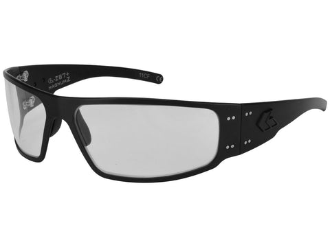 Gatorz Magnum ANSI Z87 Black, Clear Anti-Fog Sunglasses