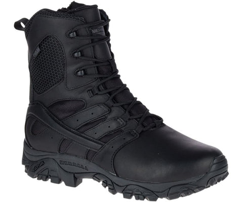 Merrell 8' Moab Tactical Reponse Waterproof Boot Black