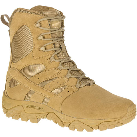 Merrell 8' Moab 2 Tatical Defense Boot Coyote
