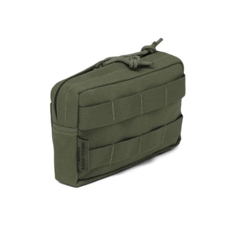 Warrior Small Horizontal Utility Pouch OD Green