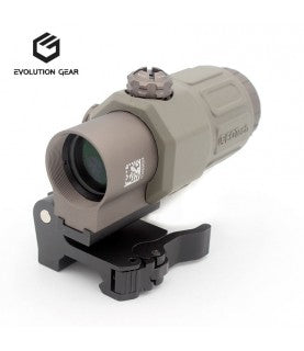 Evolution Gear Magnifier G33 Type 3X FDE