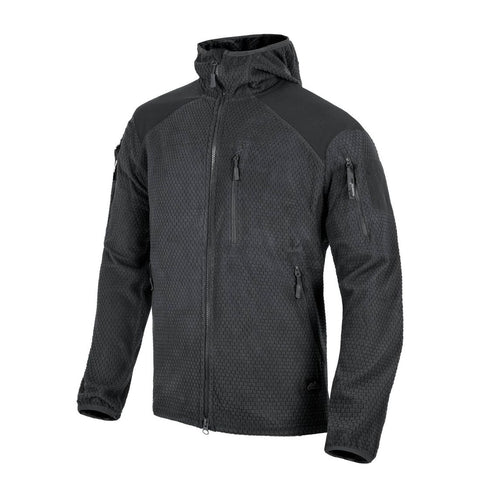 Helikon - Tex Alpha Tactical Jacket Grid Fleece Black