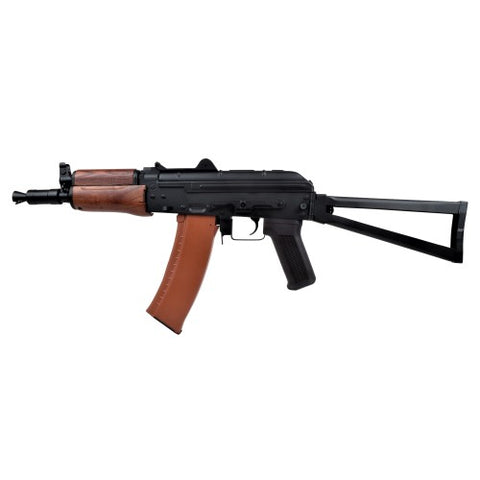 CYMA ELECTRIC RIFLE AKS-74U REAL WOOD