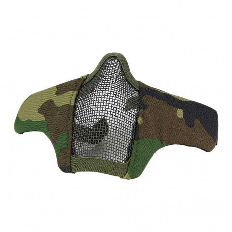 DRAGONPRO  Tactical Foldable Facemask Woodland