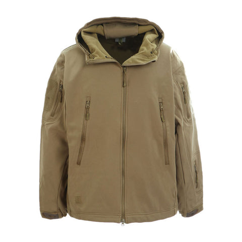 DRAGONPRO DP-SS001-003 3-Layer SoftShell Jacket Tan