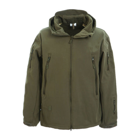 Dragonpro DP-SS001-31 3 layer Softshell Army Green