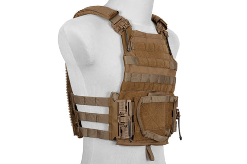 Emerson BlueLabel Quick Release Jump Plate Carrier 2.0 Vest - Coyote Brown