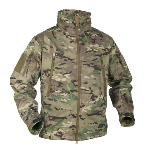 Helikon - Tex Gunfighter Jacket Shark Skin Windblocker Camogrom