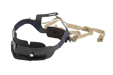 Ultimate Tactical Helmet Webbing And Harness TAN