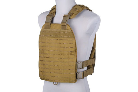 GFC Laser-cut plate carrier type tactical vest - tan