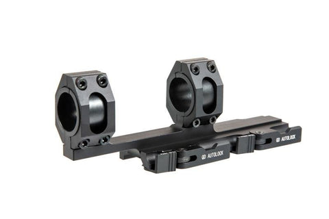 Aim-o Tactical Top Rail Extend 25.4-30mm Scope Mount - Black
