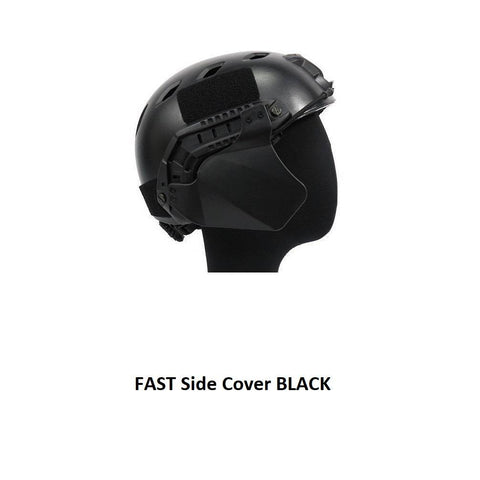 FMA Fast Helmet Side Cover - Black