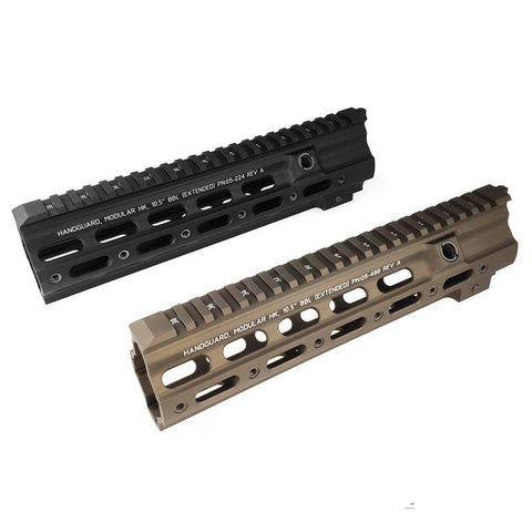"Handguard rail geissele smr 10.5"" style Black for 416"