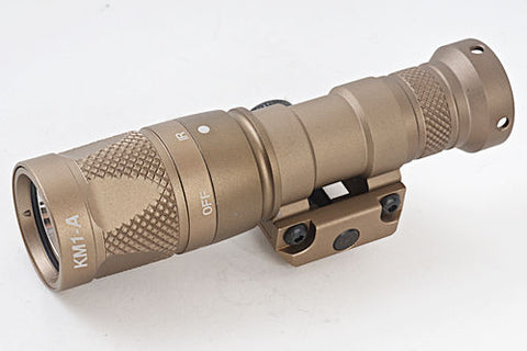 BLACKCAT AIRSOFT M300V TACTICAL FLASHLIGHT - TAN