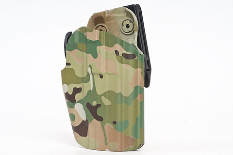 GK Tactical 5x79 Compact Holster Water Transfer Multicam