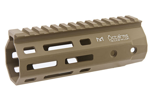 Ares 145mm M-LOK Handguard Set Dark Earth