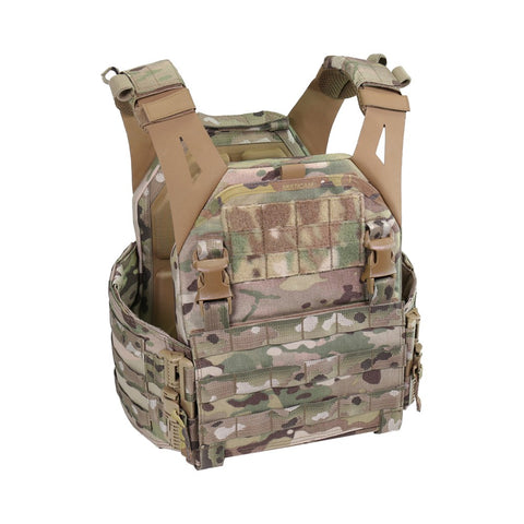WARRIOR LOW PROFILE CARRIER V1 WITH SOLID SIDES MULTICAM