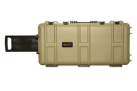 Nuprol Medium Hard Case Wave Tan
