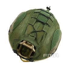FMA BALLISTIC/FAST/HIGH CUT OLIVE DRAB HELMET COVER