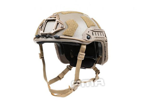 FMA SF Super High Cut Helmet Tan