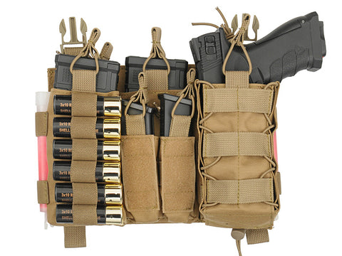 8 Fields Buckle Up Multi-Mission Front-Panel - Coyote