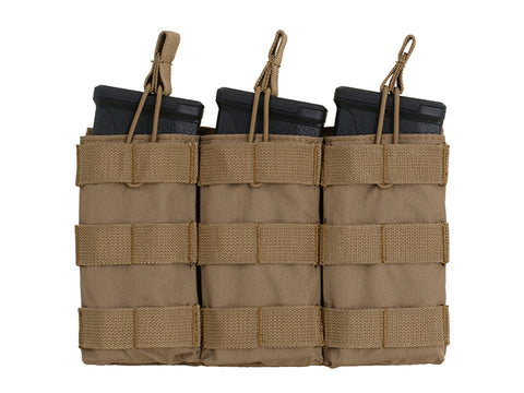 8 Fields Modular Open Top Triple Mag Pouch for 5.56- Coyote
