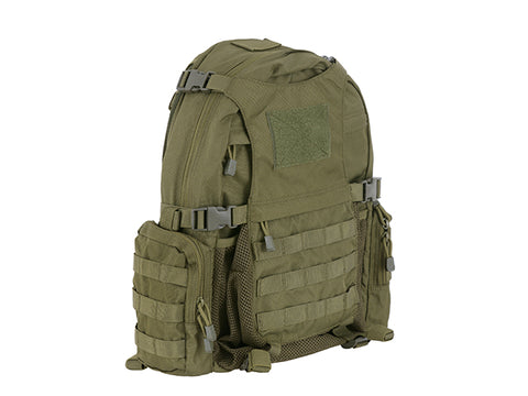 8 Fields TACTICAL BACKPACK WITH HELMET POCKET- OLIVE